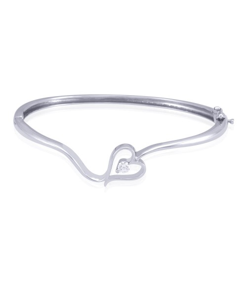 Little Heart Sterling Silver Bracelet