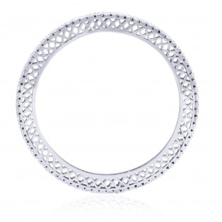Oriente Sterling Silver Bangle