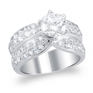 Sterling Silver The Radiance Solitaire Ring
