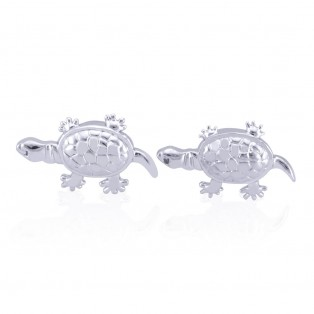 Swarovski Zirconia Turtles Cufflinks
