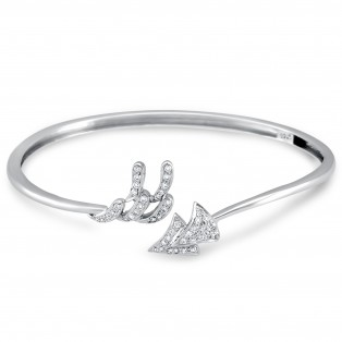 Arrow To My Heart Sterling Silver Cuff