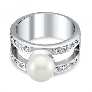 Japanese Real Pearl Ring