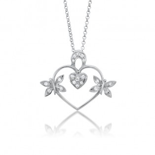 The Soulous Heart Swarovski Zirconia Pendant