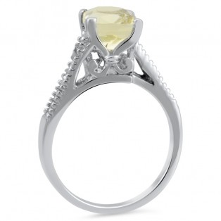 Yellow Timbrel Ring