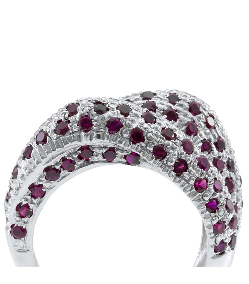 The Ruby Icon Swarovski Zirconia Ring