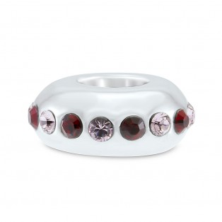 Violet and Garnet Swarovski Elements Sweet Indulgence Bead
