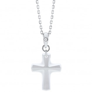 Swarovski Elements Cross Pendant