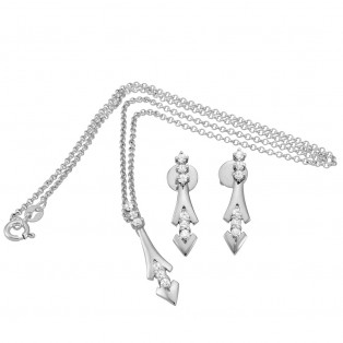 The Artemis Sterling Silver Set