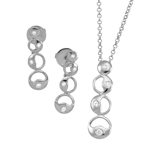Unified Lights Sterling Silver Set
