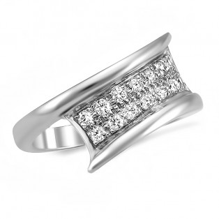 Connect Sterling Silver Ring